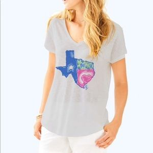 Lilly Pulitzer | Lilly loves Texas Colie T-shirt